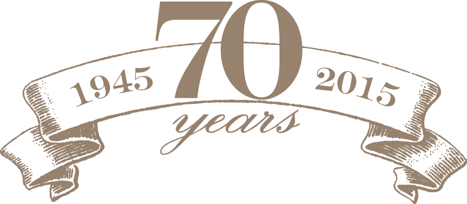 70 Years Banner
